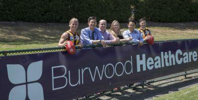 Box Hill Hawks and Burwood healthcare sports injury burwood partnership